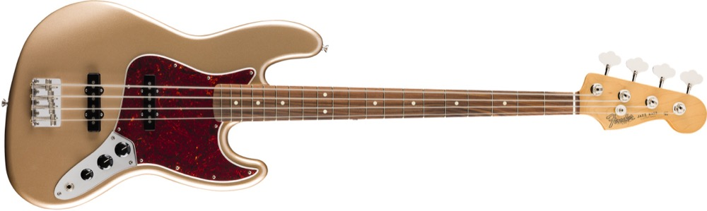 Fender Vintera 60's Jazz Bass In Firemist Gold