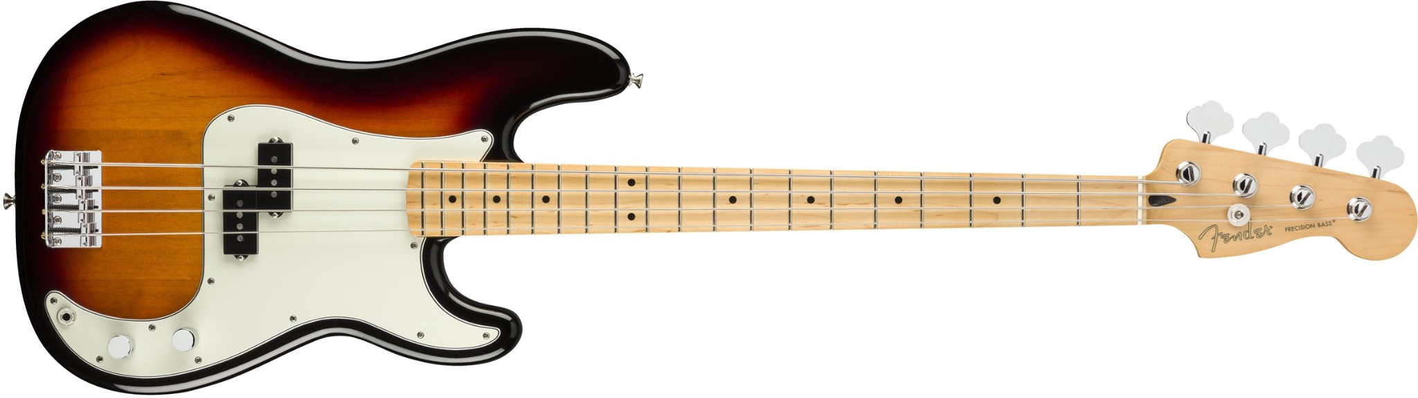Fender Player P Bass PF In 3 Colour Sunburst