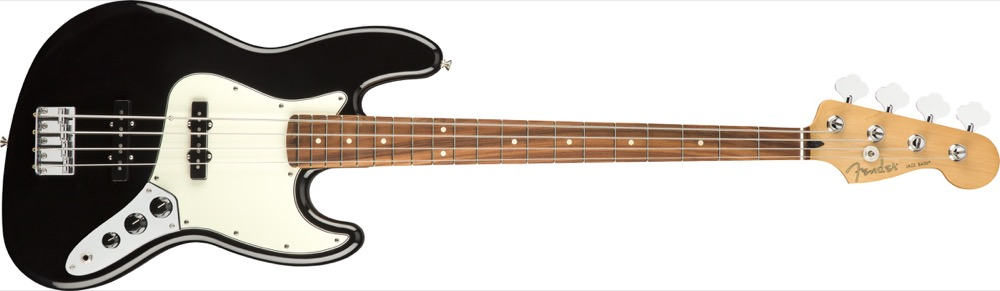 Fender Player Jazz Bass PF In Black