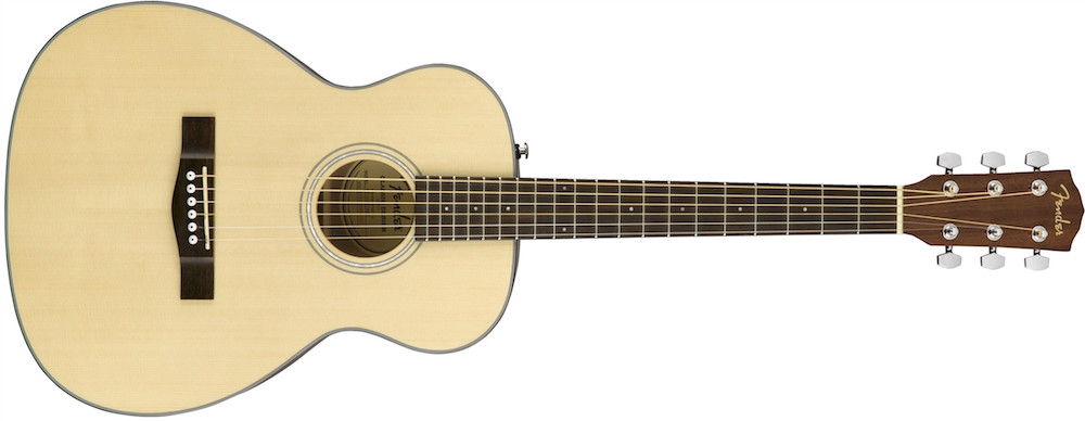 Fender CT-60S NAT Solid Top Travel Acoustic  …