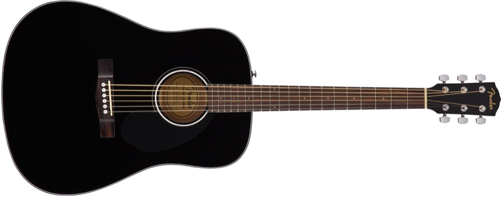 Fender CD-60S Solid Top Dreadnought Acoustic  …