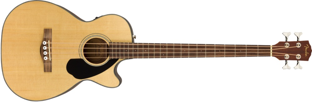 Fender CB-60SCE Solid Top Acoustic Bass In Natural