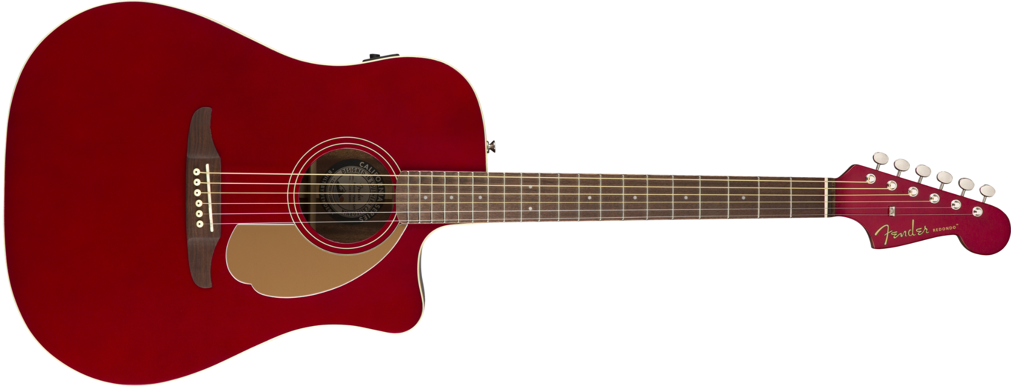 Fender Redondo Player Candy Apple Red  …