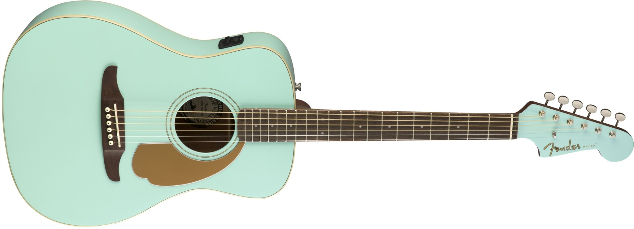 Fender Malibu Player Solid Top Acoustic  …