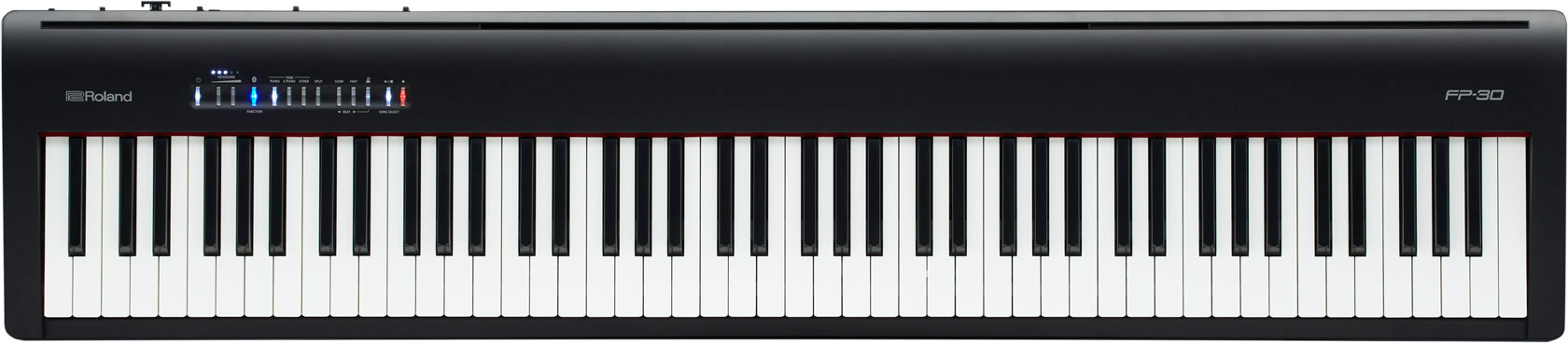 Roland FP-30 88 Weighted Key Digital Piano  …