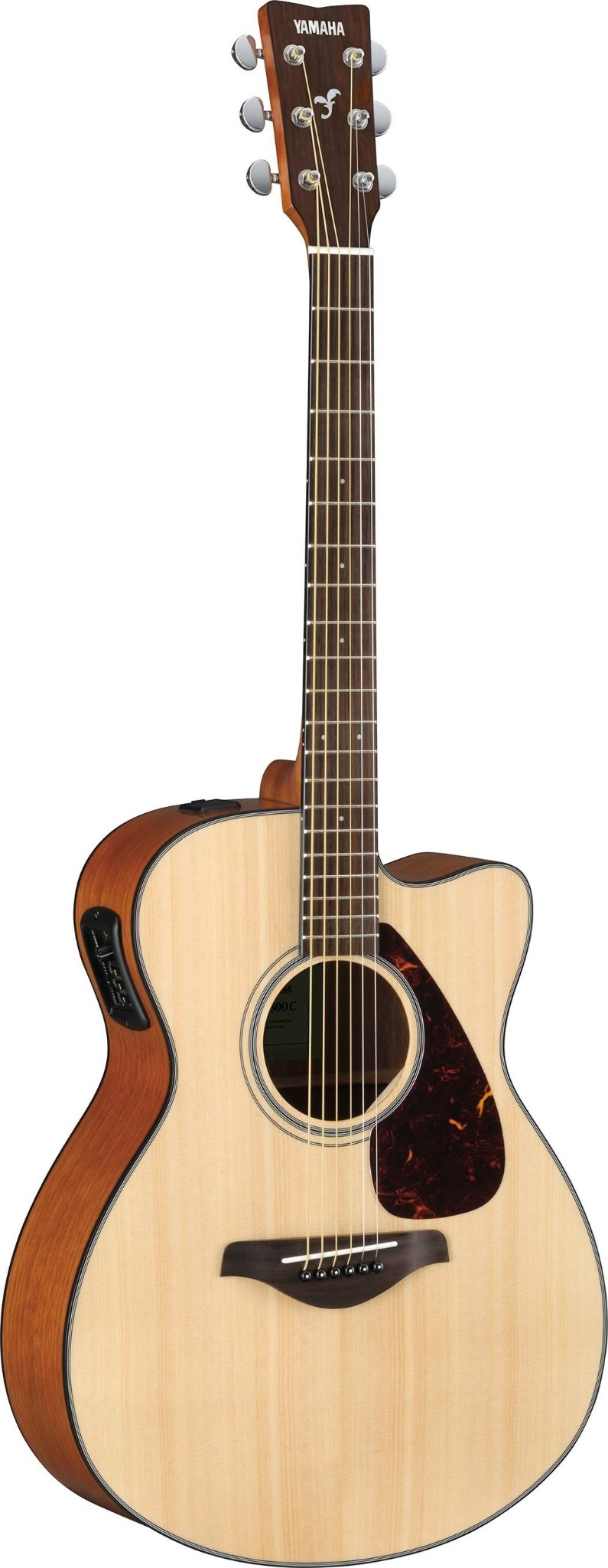 Yamaha Solid Spruce Top Acoustic Natural  …