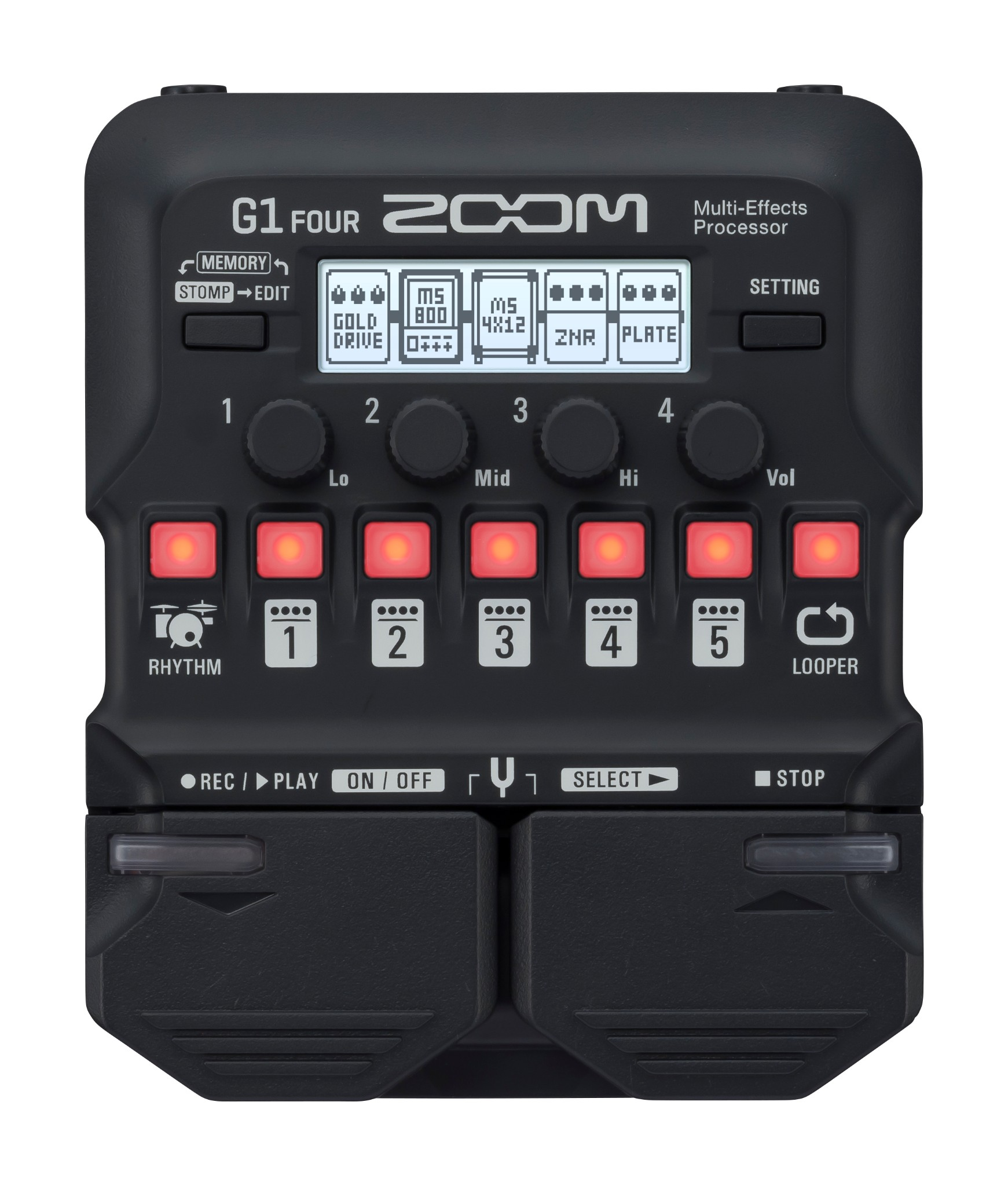 Zoom G1 Guitar Multi Effects Processor