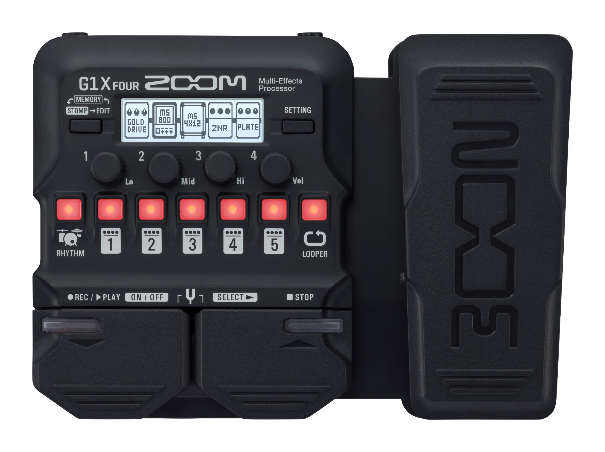 Zoom G1X  Guitar Multi Effects Processor  …