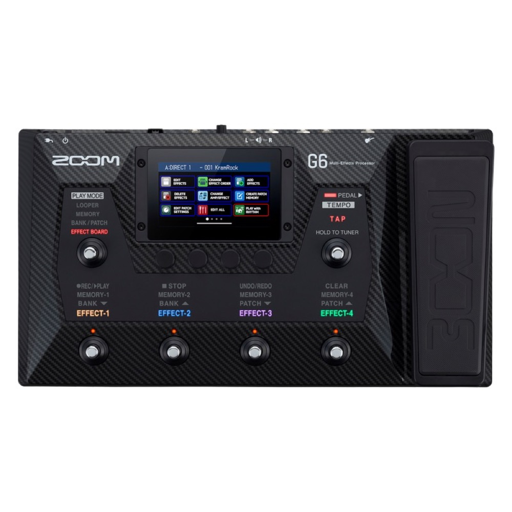 Zoom G6 Guitar Multi Effects Processor  …