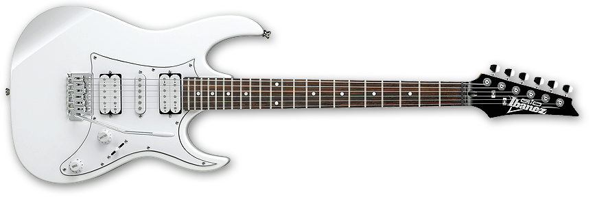 Ibanez GRX50 Gio RX Electric Guitar HSH In White - GEAR MUSIC