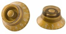 Gibson Top Hat Knobs - Gold