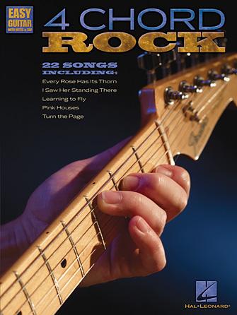 4 Chord Rock Easy Guitar - Tab