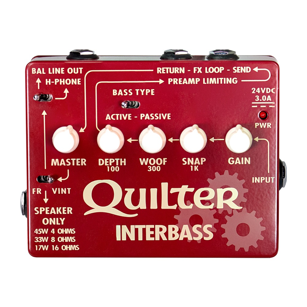 Quilter Interbass 45 45 Watt Pedal Based Amp