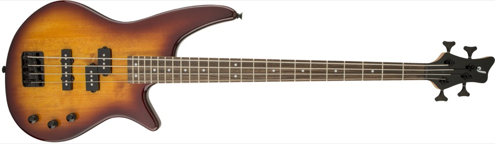 Jackson JS2 Spectra Bass in Tobacco Burst