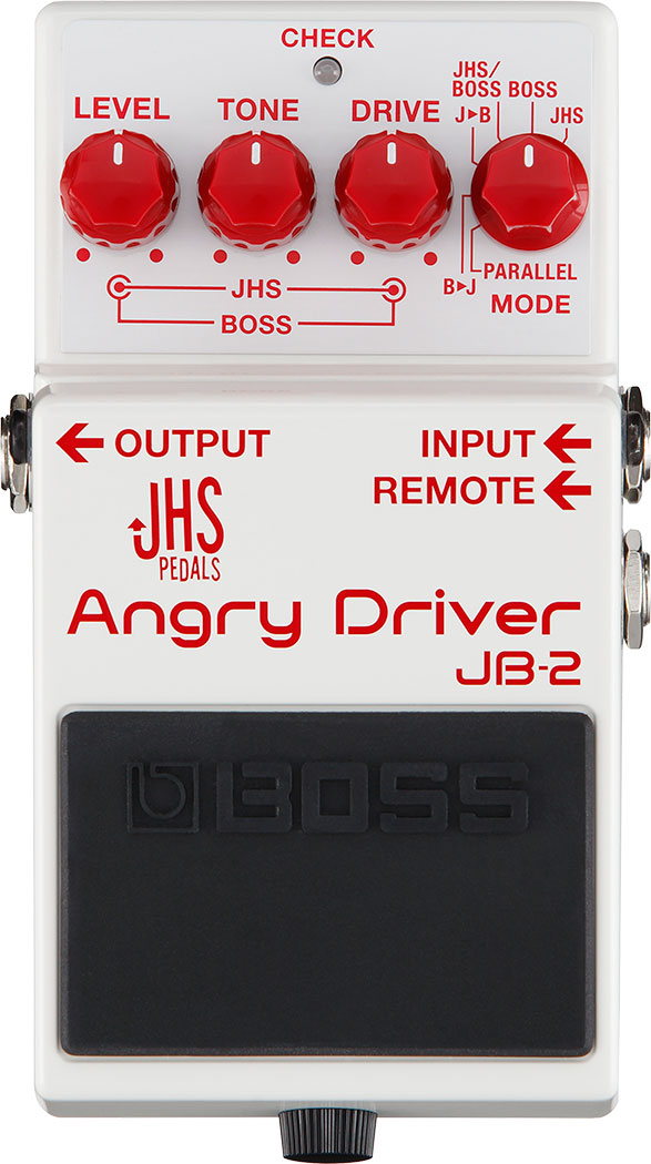 BOSS JB-2 JHS Angry Driver Dual Distortion Pedal