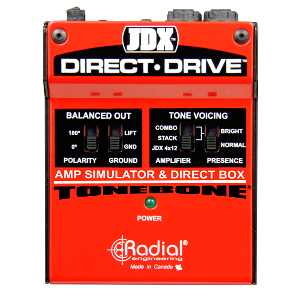 Radial JDX Direct Drive Guitar Amp Simulator  …