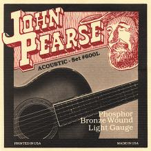 John Pearse Phosphor Bronze Light Acoustic Strings