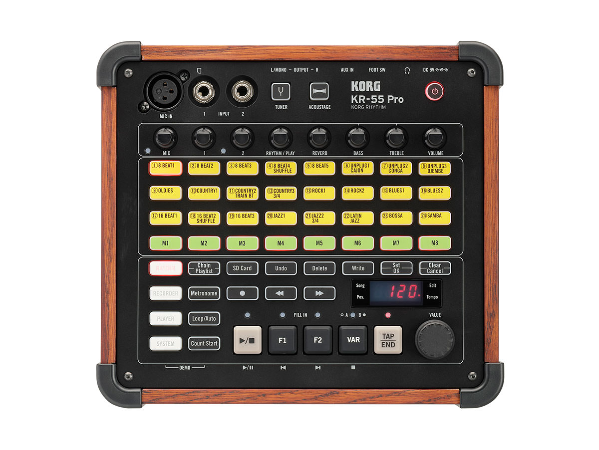 Korg KR55 ProSound Easy To Use Drum Machine