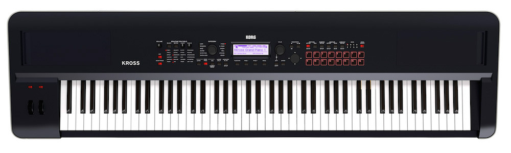 Korg KROSS 2 88 Key Piano Action Workstation  …