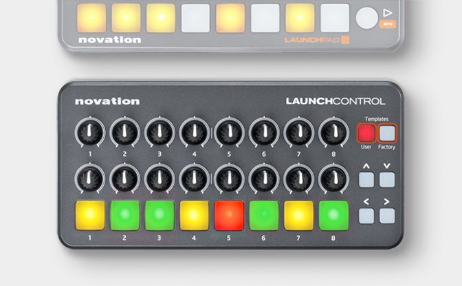 Novation Launch Control Portable Pad And  …