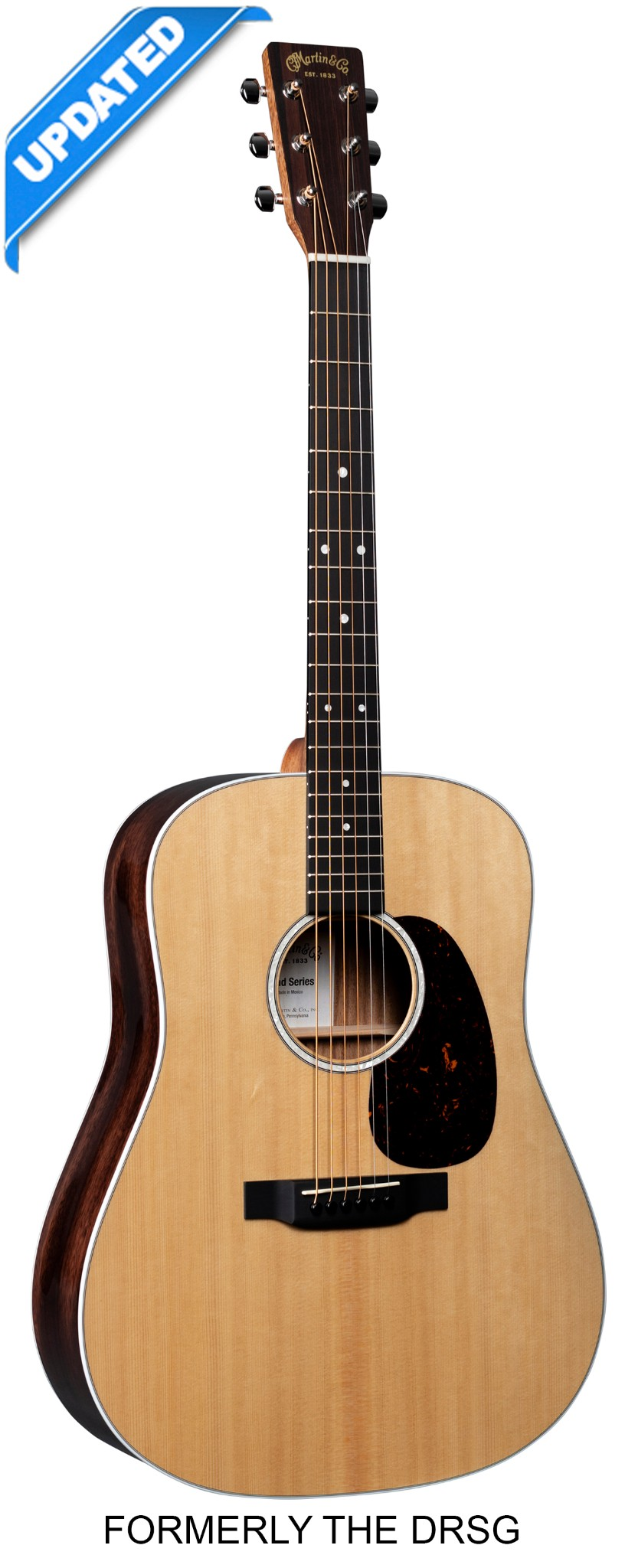 Martin D-13E Road Series All Solid Wood  …
