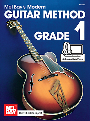 Mel Bay Modern Guitar 1 with Media