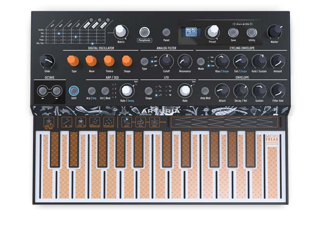 Arturia MicroFreak Hybrid Analog Digital Synth