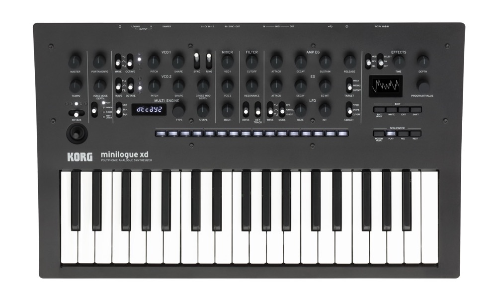 Korg Minilogue XD Mini Polyphonic  …