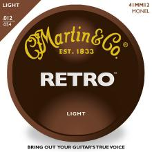 Martin Retro Light Acoustic Strings 12-54 MM12