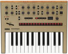 Korg Monologue Mini Monophonic Synth - Gold