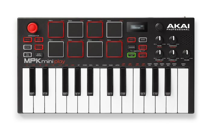Akai MPKMINIPLAY Mini Controller Keyboard  …