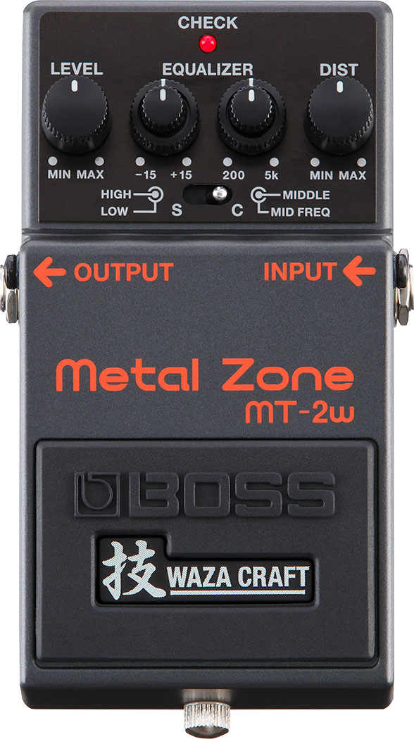 BOSS MT-2W Waza Metal Zone Distortion Made  …
