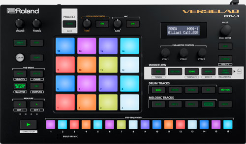 Roland MV-1 VERSELAB Song Production Studio