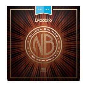 D'Addario NB Acoustic Nickel Bronze 12-53 Light NB1253