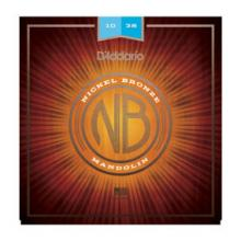 D'Addario NB Mandolin Nickel Bronze 10-38   …