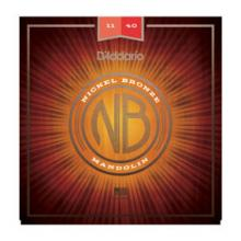 D'Addario NB Mandolin Nickel Bronze 11-40  …