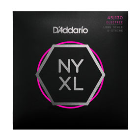 D'Addario NYXL 45-130 5 String Electric  …