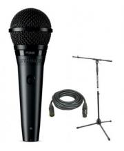 Shure PGA58 Handheld Mic Kit w/Stand And XLR Cable