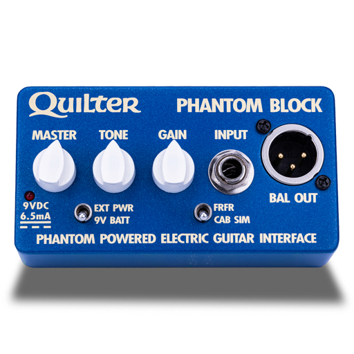 Quilter Phantom Block Guitar Interface Direct  …