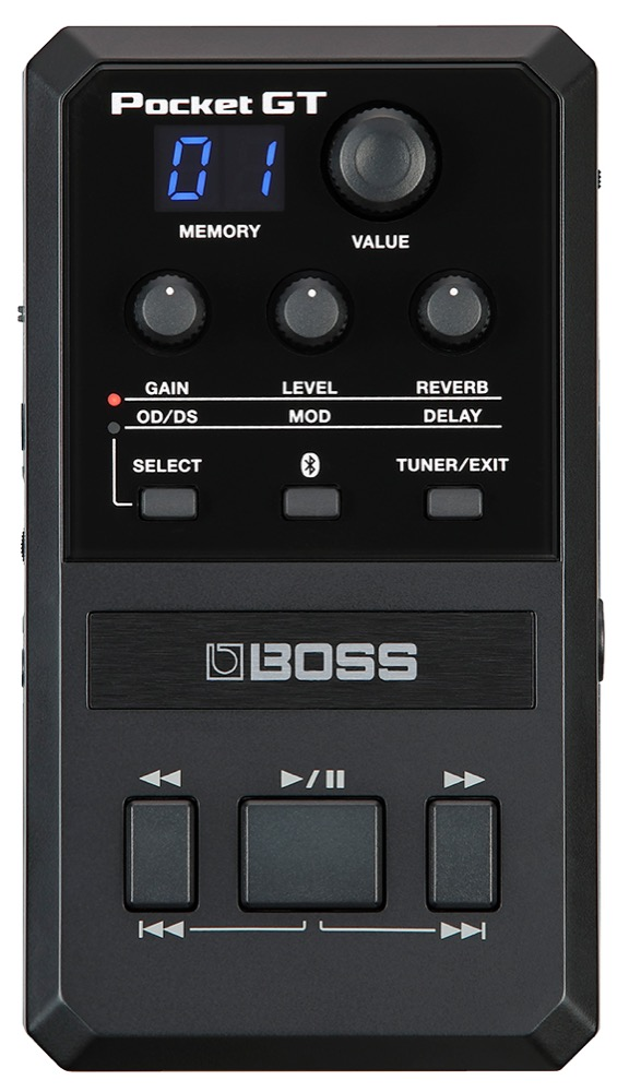 BOSS Pocket-GT Personal Guitar Effects System