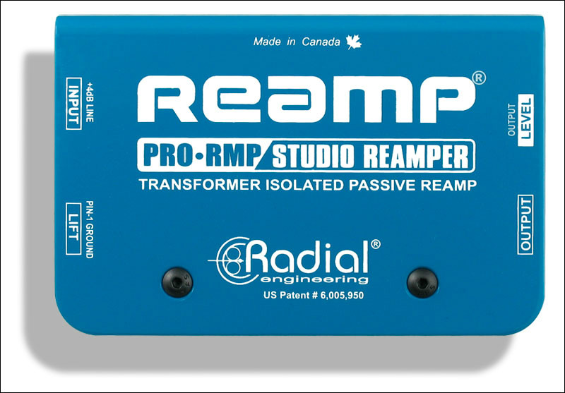 Radial Pro-RMP Re-Amping Box