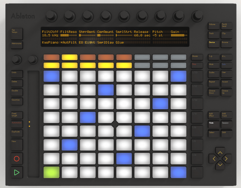 Ableton Push Controller with Live 9 Intro*