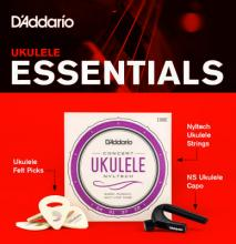 Planet Waves UKEB-VM Ukulele Accessories Bundle