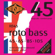 Rotosound RB45 Roto Bass Nickel Wound  …