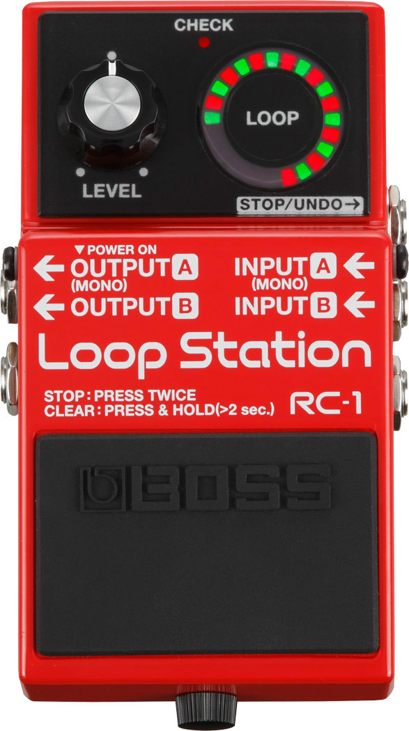 BOSS RC-1 Loop Station Compact Pedal