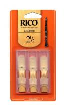 Rico Bb Clarinet Reed 3-Pack #2.5