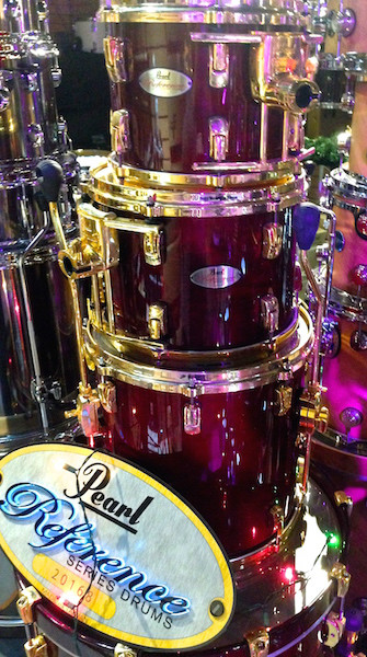 Pearl Reference 4 Piece Shell Pack in Wine  …