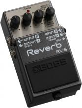 BOSS RV-6 Digital Reverb Pedal