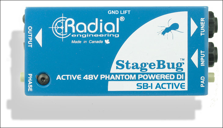 Radial StageBug SB-1 Active Direct Box  …