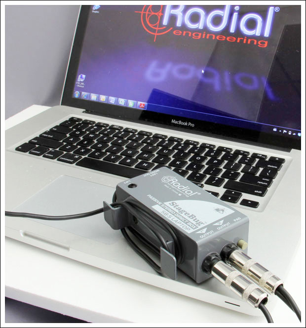 Radial StageBug SB-5 Direct Box For Laptop